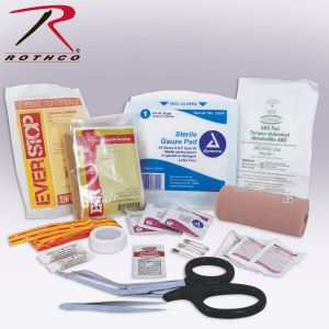Rothco Tactical Trauma First Aid Kit Contents