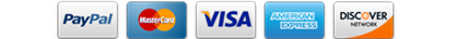 Payments accepted: Amex Visa Mastercard Discover